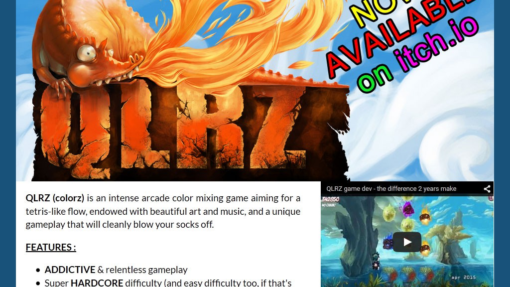 QLRZ early access disponible sur itch.io